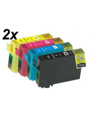 Epson T1816 T1806 - 18XL -  multipack 8 pc  (KHL marque) T1816T1811T1812T1813T1814MP8-KHL