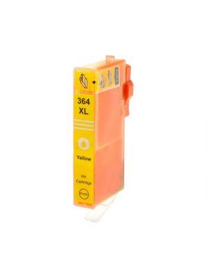 HP364 XL jaune CB325EE (CB320EE) AVEC puce (KHL marque) HP364XLYCB325EE-KHL