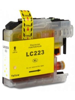 Brother LC-223 Y cartouche d'encre jaune  (KHL marque) LC223Y-KHL