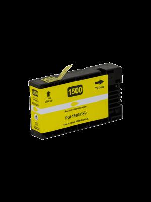 Canon PGI-1500 XL cartouche d'encre jaune (KHL marque) PGI1500XLY-KHL