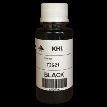 Epson T2621 kit de recharche 100 ml noir (KHL marque) T2621BK100T26XLT2601-KHL