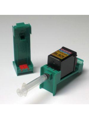 Refill adapter/Airpuller Lexmark #19,20,25,48,50,60,70,71,75,80,85,90 vullexr